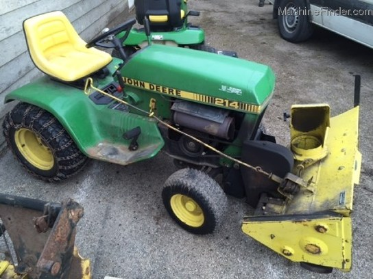 1984 John Deere 214 Lawn Amp Garden And Commercial Mowing