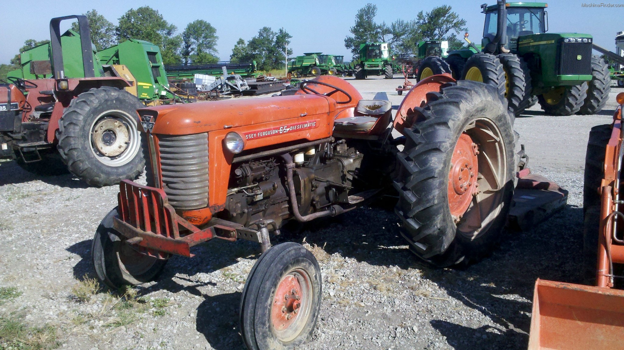Massey Ferguson 65 Rear Axle : Massey ferguson tractors utility hp john