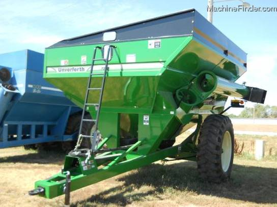 2012 Unverferth 7250 GRAIN CAR 740 BUSHEL 17
