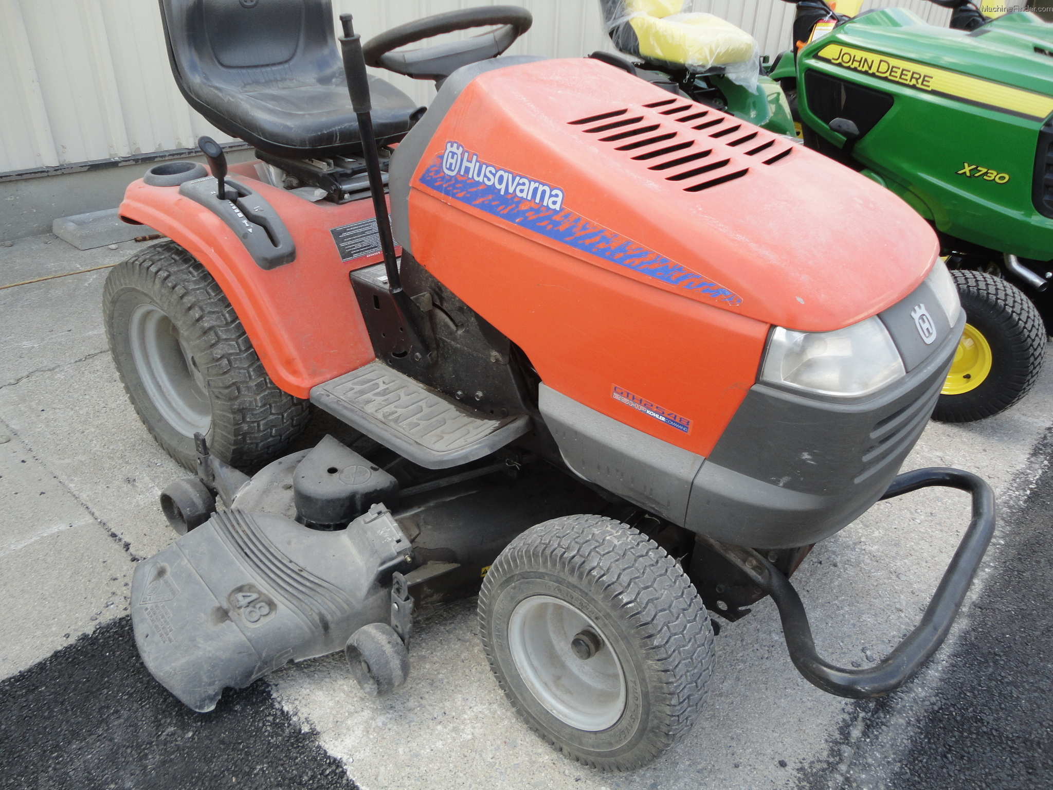 2005 Husqvarna Gth2548 Lawn Amp Garden And Commercial Mowing