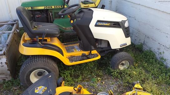 Cub Cadet Lawn Tractors 2010 : Cub cadet ltx lawn garden and commercial mowing