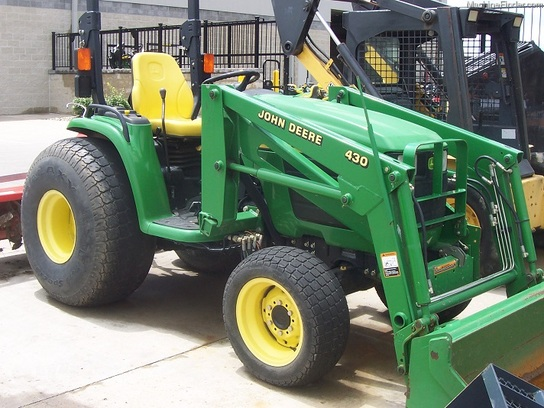 Compact Tractor Tires And Wheels : John deere galaxy turf tires for  tractors