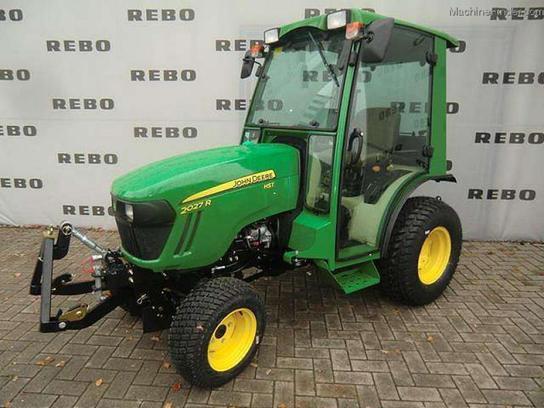 2015 john deere 2027r kompakttraktor tractors compact 1. Black Bedroom Furniture Sets. Home Design Ideas
