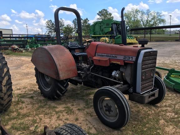Massey Ferguson 231 Tractor : Massey ferguson wd tractors ebay