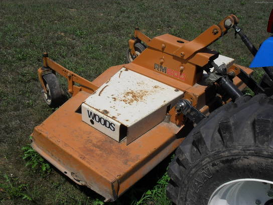 "Woods 60"" Grooming Mower"