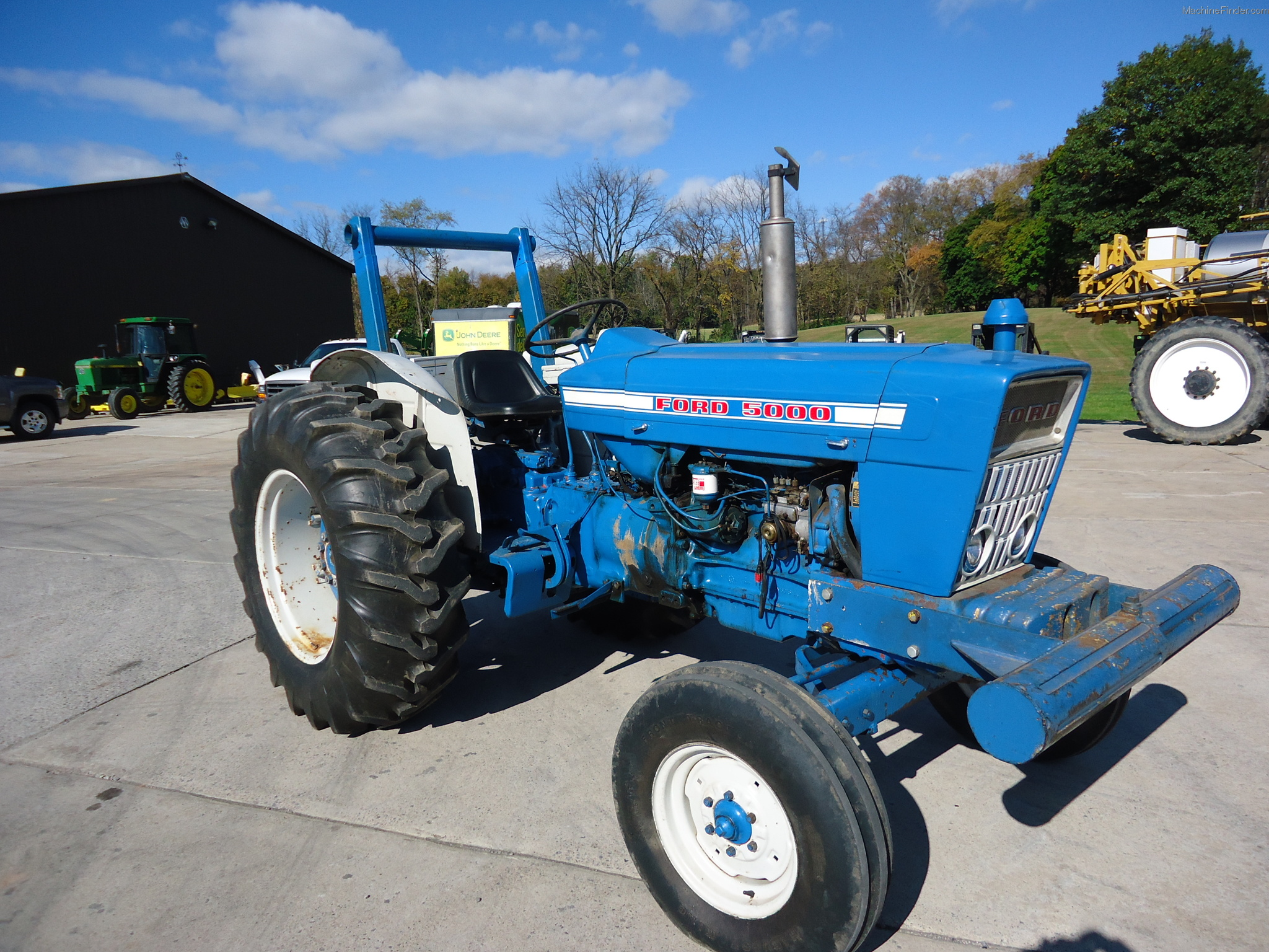 1973 Ford Tractor 5000 Parts : Ford tractor pictures to pin on pinterest