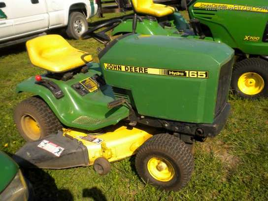 John Deere Hydro 165 Manual http://www.machinefinder.com/ww/en-US/machine/2278290