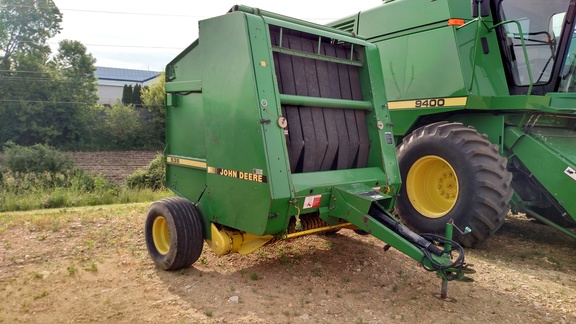 John Deere 535 Round baler Operators manual
