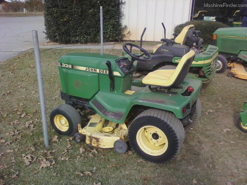John Deere 332 Lawn Tractor Parts : Used farm agricultural equipment john deere machinefinder