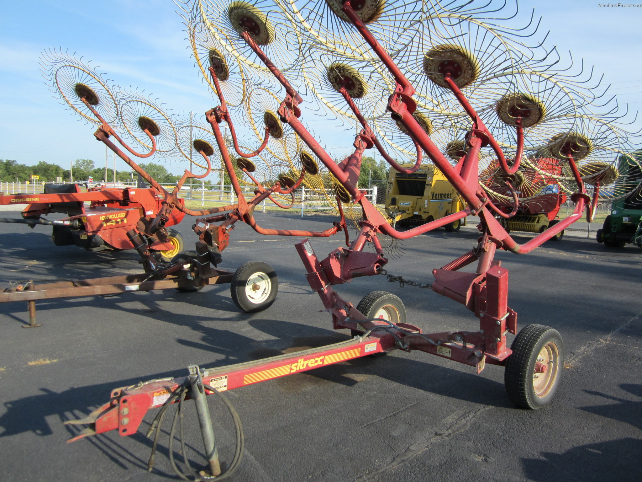 Sitrex Rake Parts : Sitrex v wheel rake hay equipment handling and