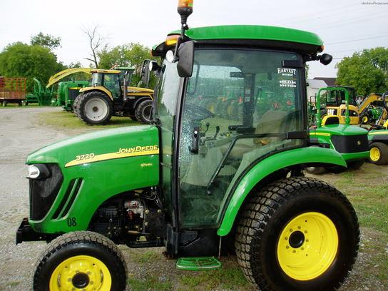 John Deere 3720 Attachments : John deere tractors utility hp