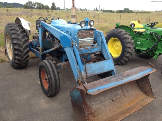 Ford 4000 Backhoe Parts : Ford tractors utility hp john deere