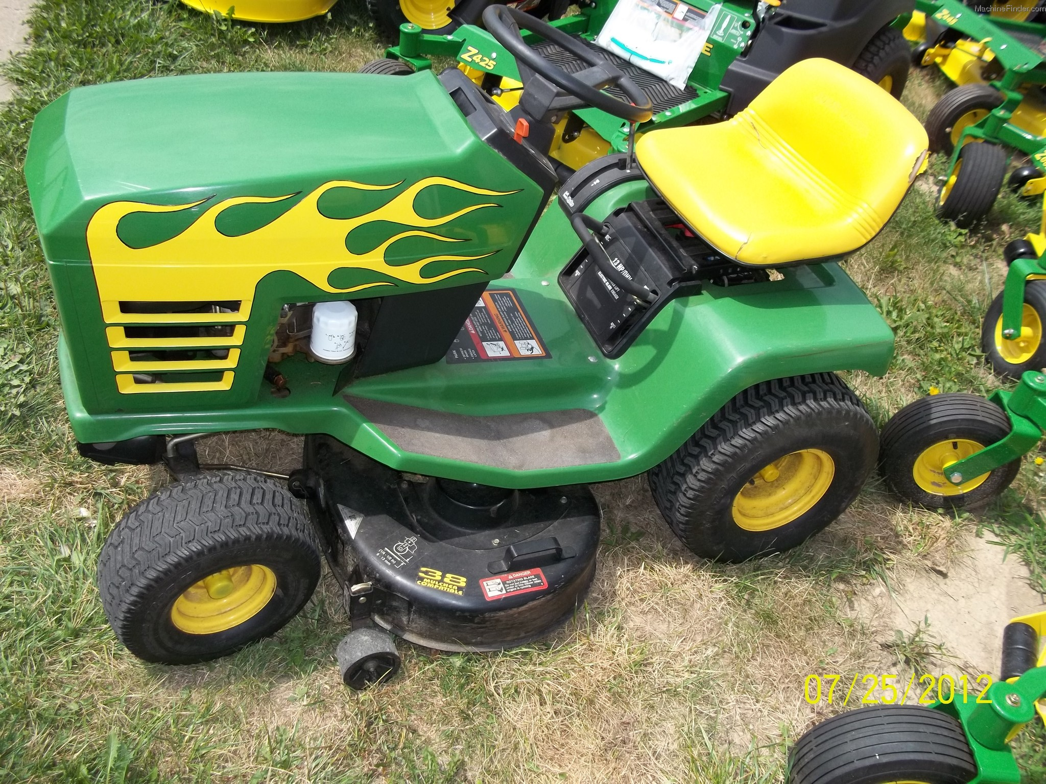 1996 John Deere Stx38 Lawn Amp Garden And Commercial Mowing