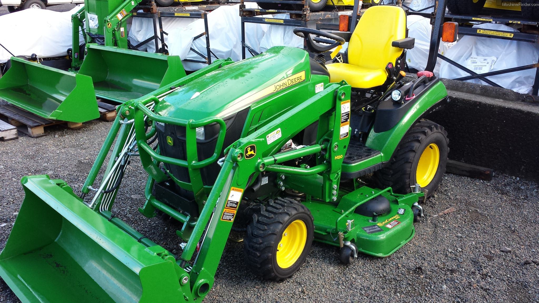 John Deere 1026r Attachments : Used farm agricultural equipment john deere machinefinder