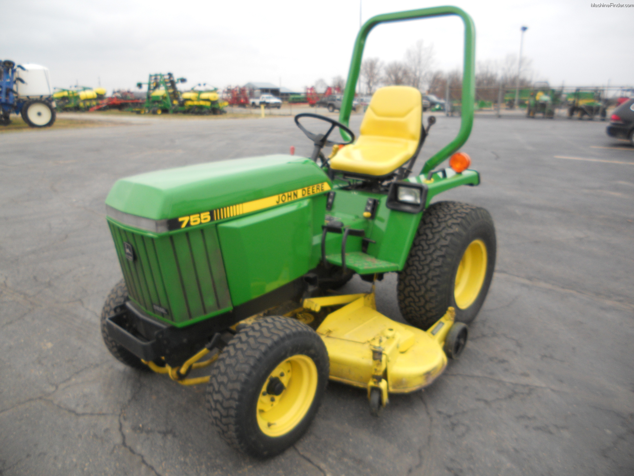 1987 john deere 755 tractors compact 1 40hp john. Black Bedroom Furniture Sets. Home Design Ideas