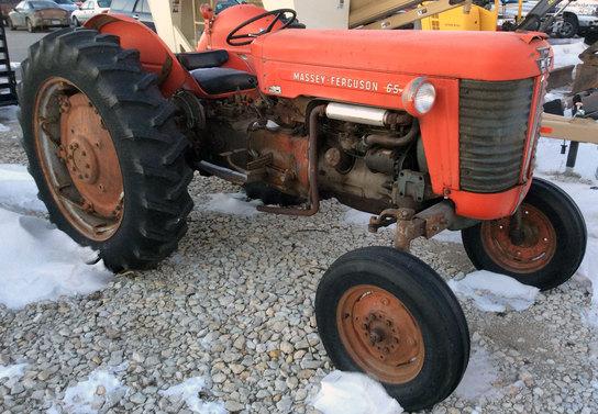 1966 Massey Ferguson Tractor : Massey ferguson tractors row crop hp