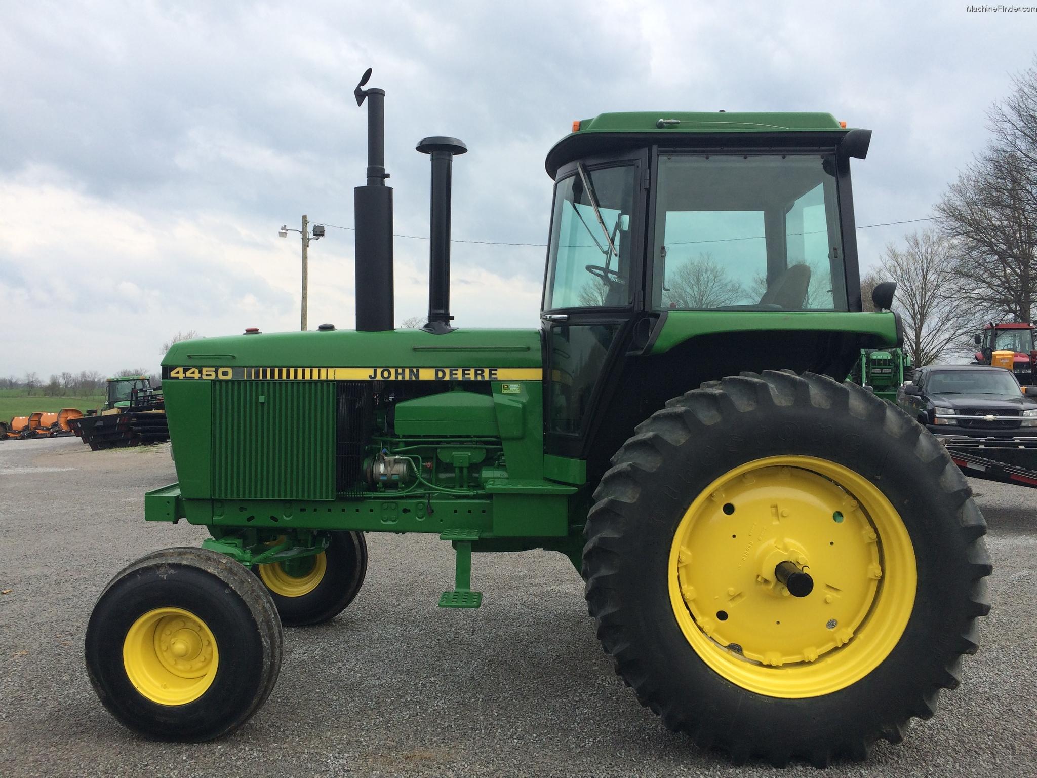 1987 John Deere 4450 Tractors - Row Crop (+100hp)