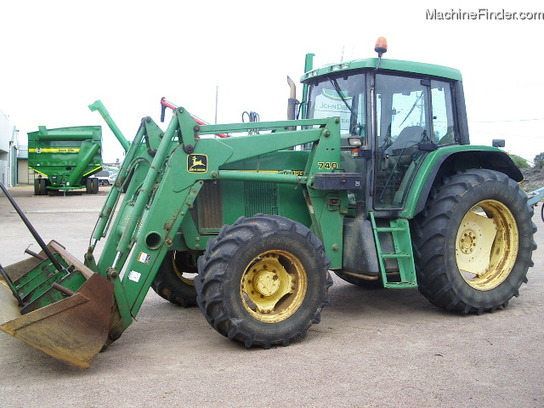 John Deere 740 Tractor : John deere tractors utility hp