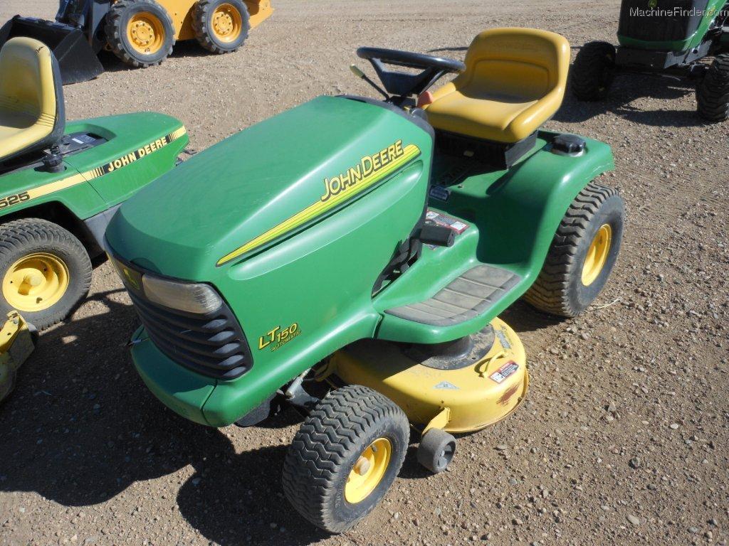 2004 John Deere Lt150 Lawn Amp Garden And Commercial Mowing