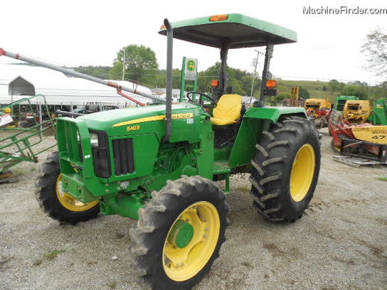 John Deere 5403 Tractor 4x4 : John deere mfwd canopy tractors utility