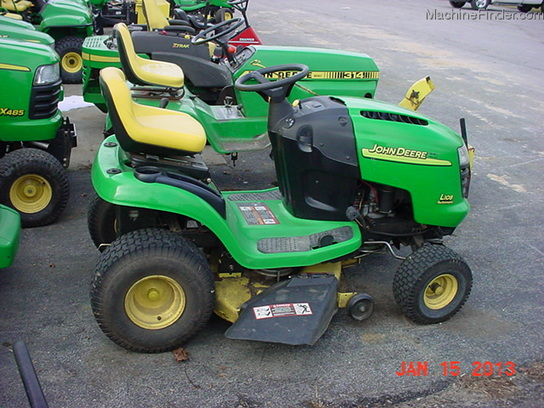 2005 john deere l108 lawn garden and commercial mowing john deere machinefinder for Bairs lawn and garden