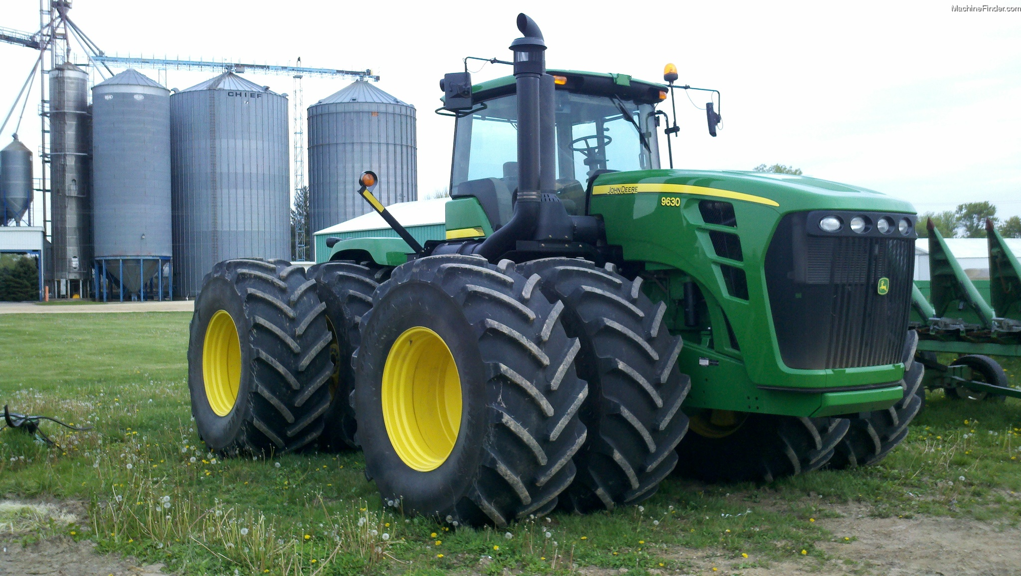 An In-Depth Look at the John Deere 9630