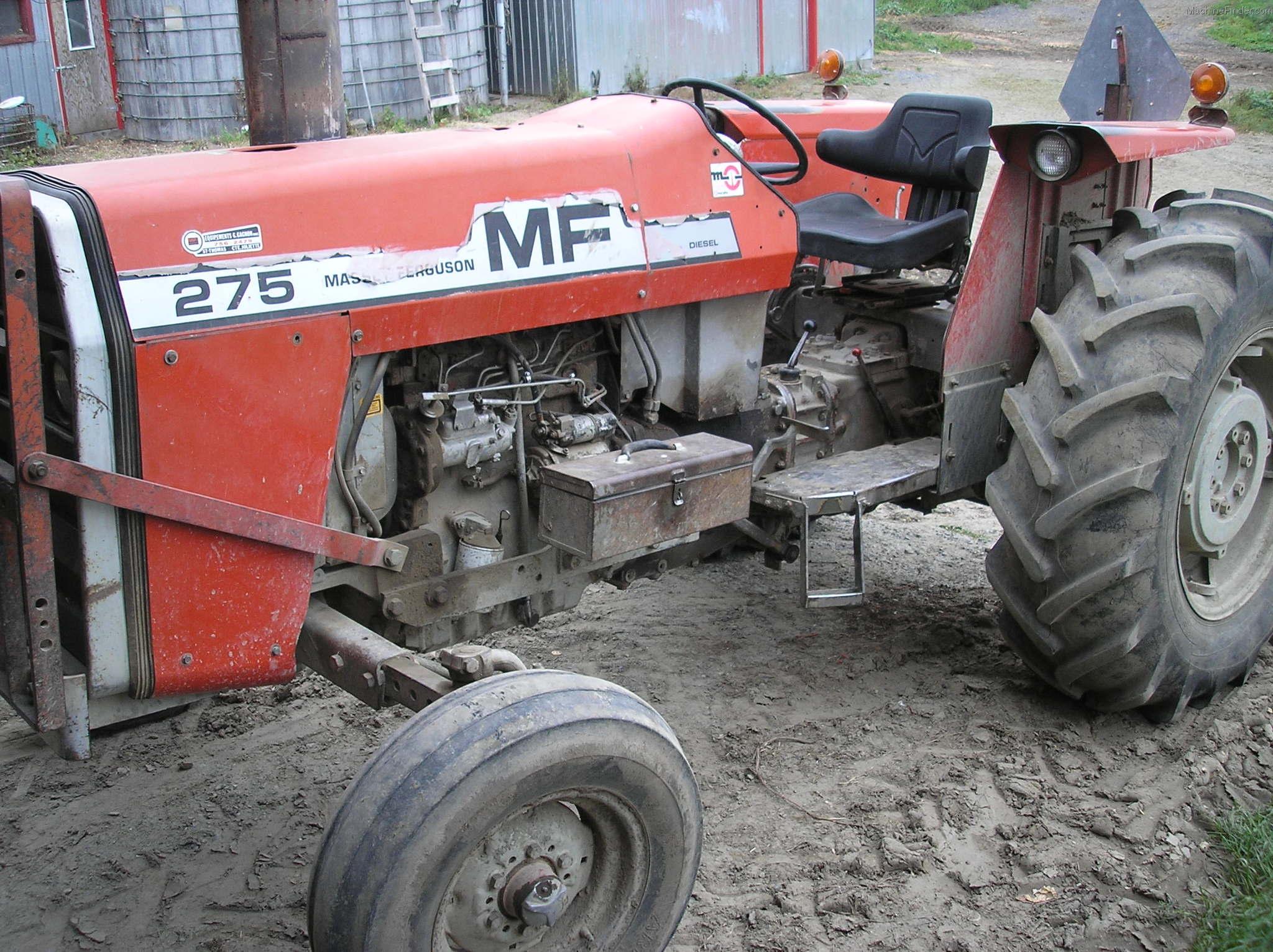 Mf 275 Tractor Data : Tweet