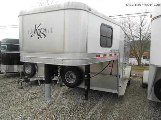 Kiefer COMBO HORSE OR LICESTOCK TRAILER
