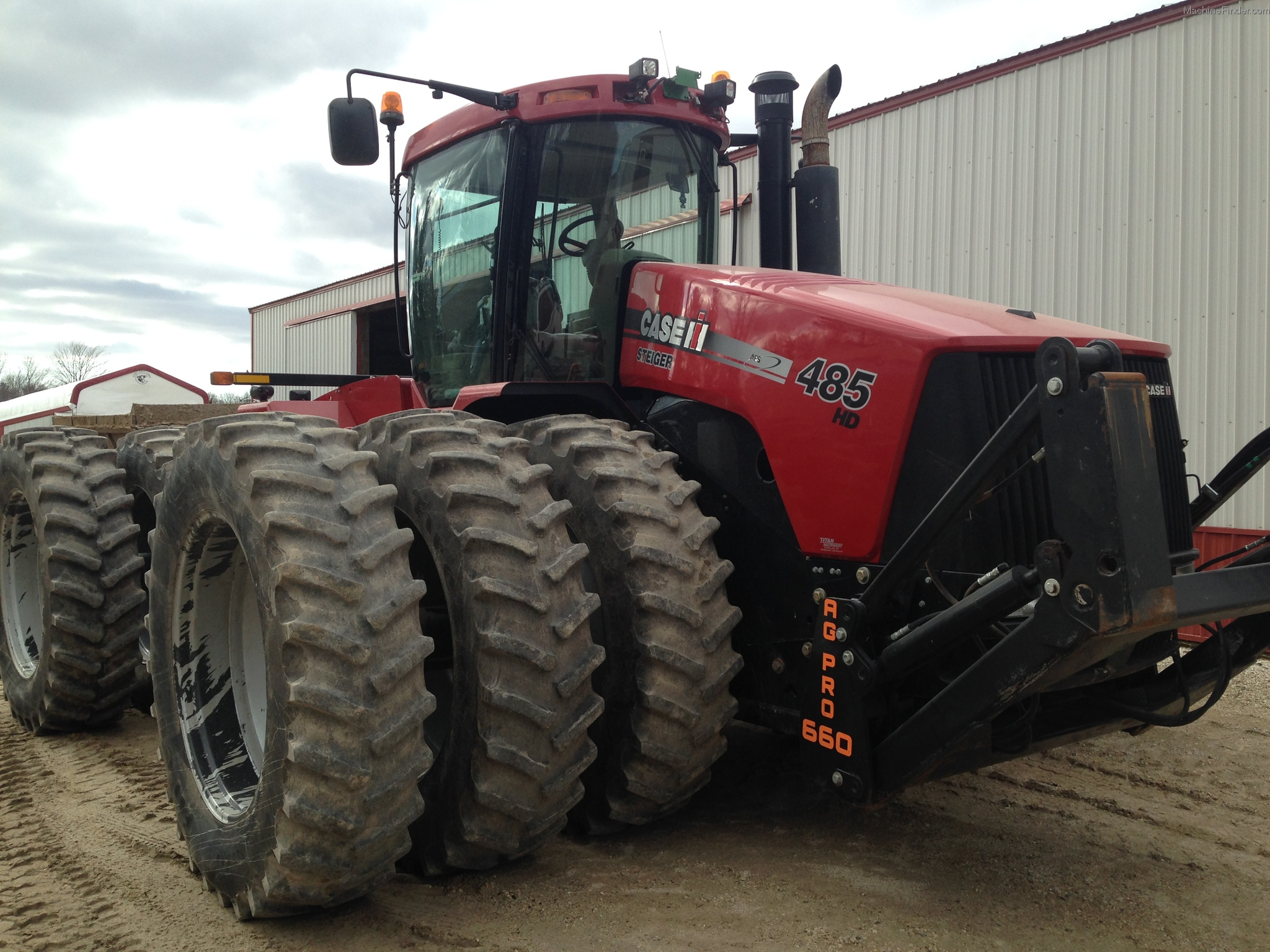2009 Case Ih Steiger 485 Tractors - Articulated 4wd