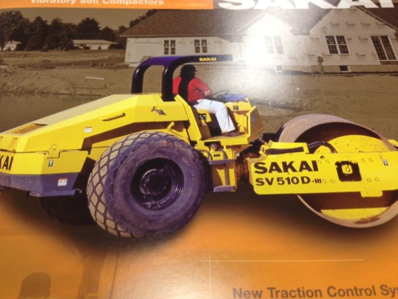 Detail photo of 2013 Sakai SV510D from Construction Equipment Guide