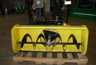 "John Deere 44"" snowblower and 4-sided weather enclosure for X500"