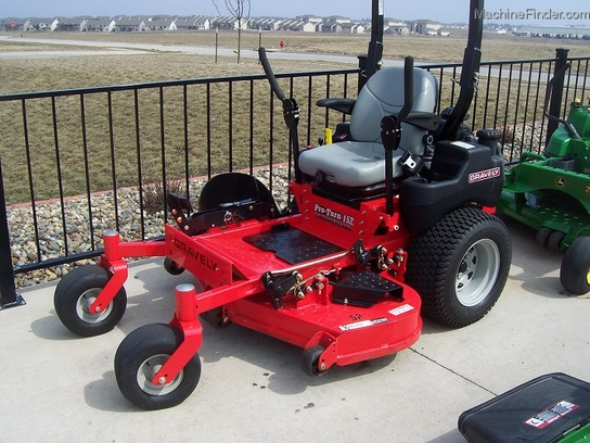 "2011 Gravely ProTurn152 commercial zero-turn mower with 52"" cut and suspension seat"