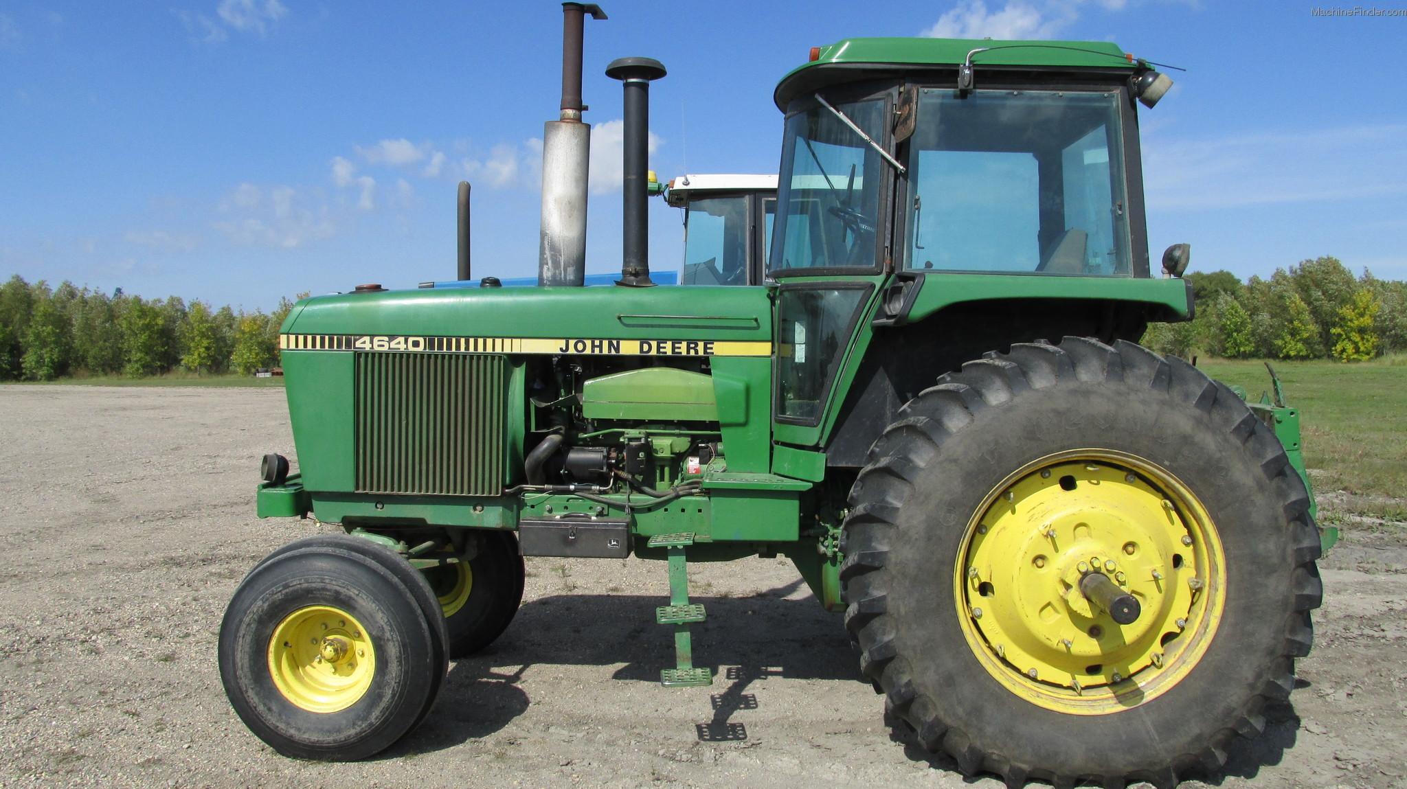 1981 John Deere 4640 Tractors - Row Crop   100hp