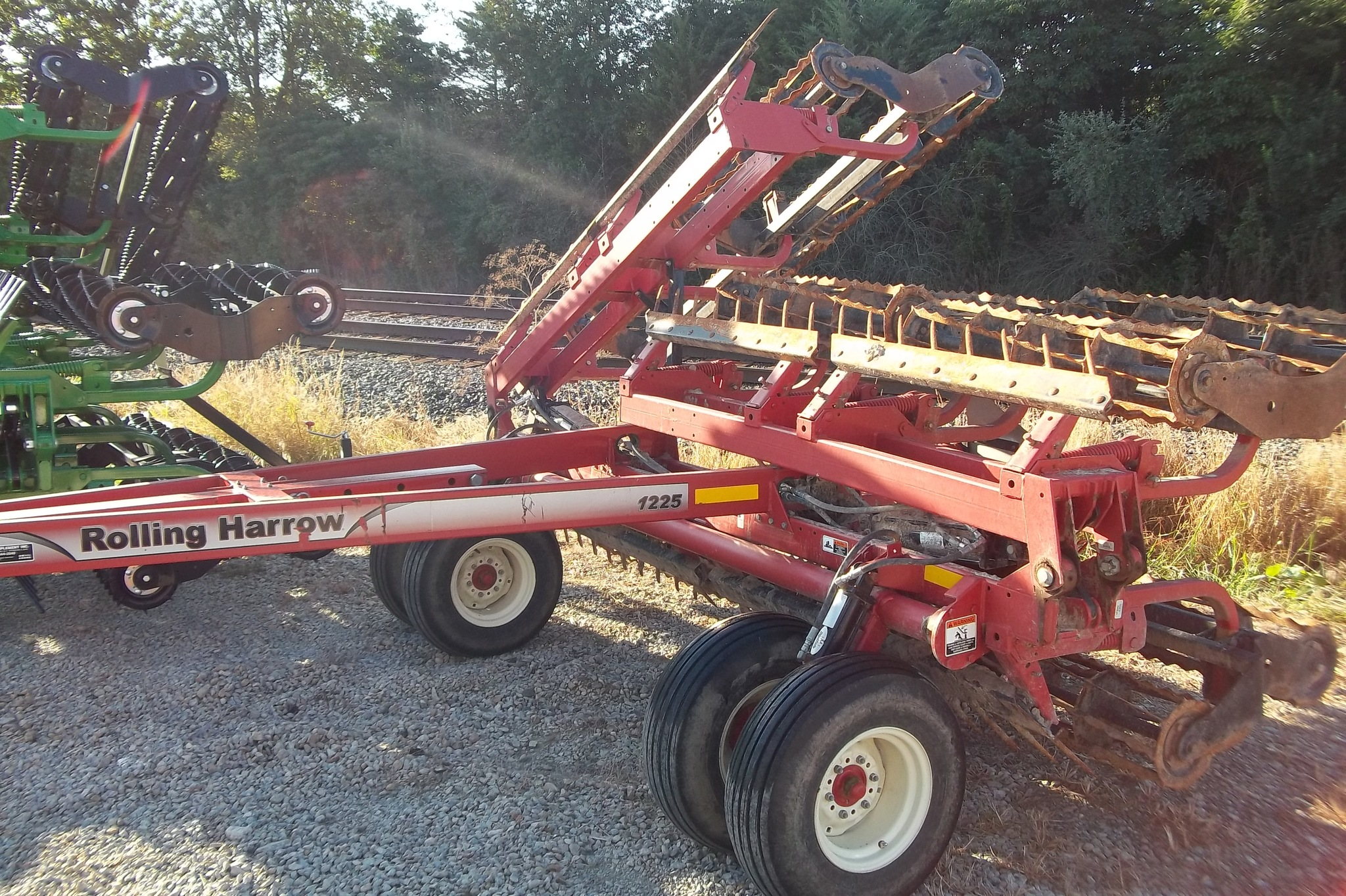 Rolling Basket Harrow : Unverferth rolling harrows for sale