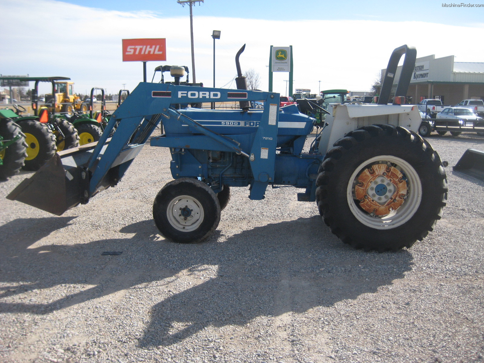 Ford 5900 Tractor Parts : Ford with loader tractors utility