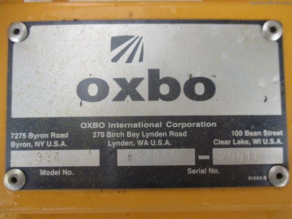 Oxbo 334