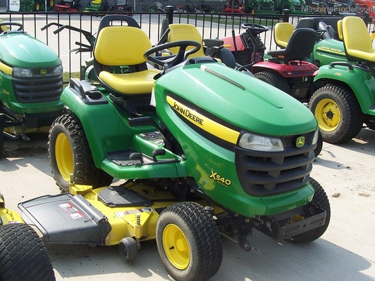 "2008 John Deere X540-54"", with HDAP tires"