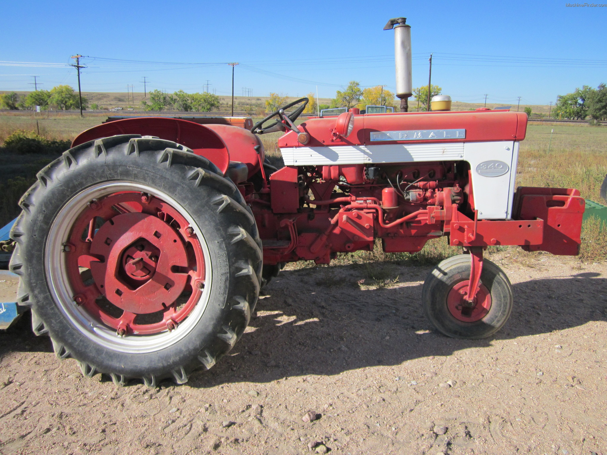 Ih 340 Utility Tractor Parts : Case ih tractors utility hp john