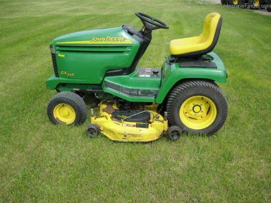 John Deere GX345 Lawn & Garden and Commercial Mowing ...