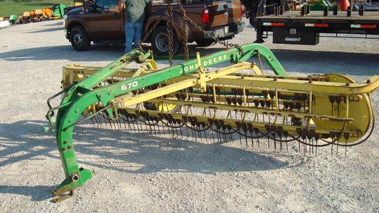 John Deere 670 Rakes John Deere Machinefinder
