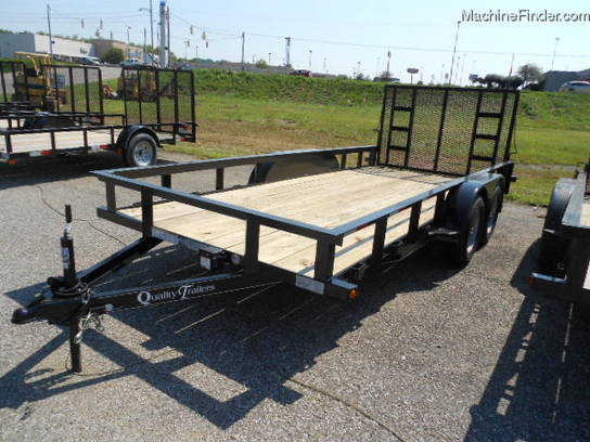 Other QUALITY TRAILER 16 LANDSCAP TRAILER WITJ A REAR GATE