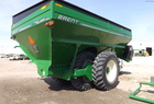 Brent 1084 GRAIN CART WALKING TANDEMS SCALE PKG