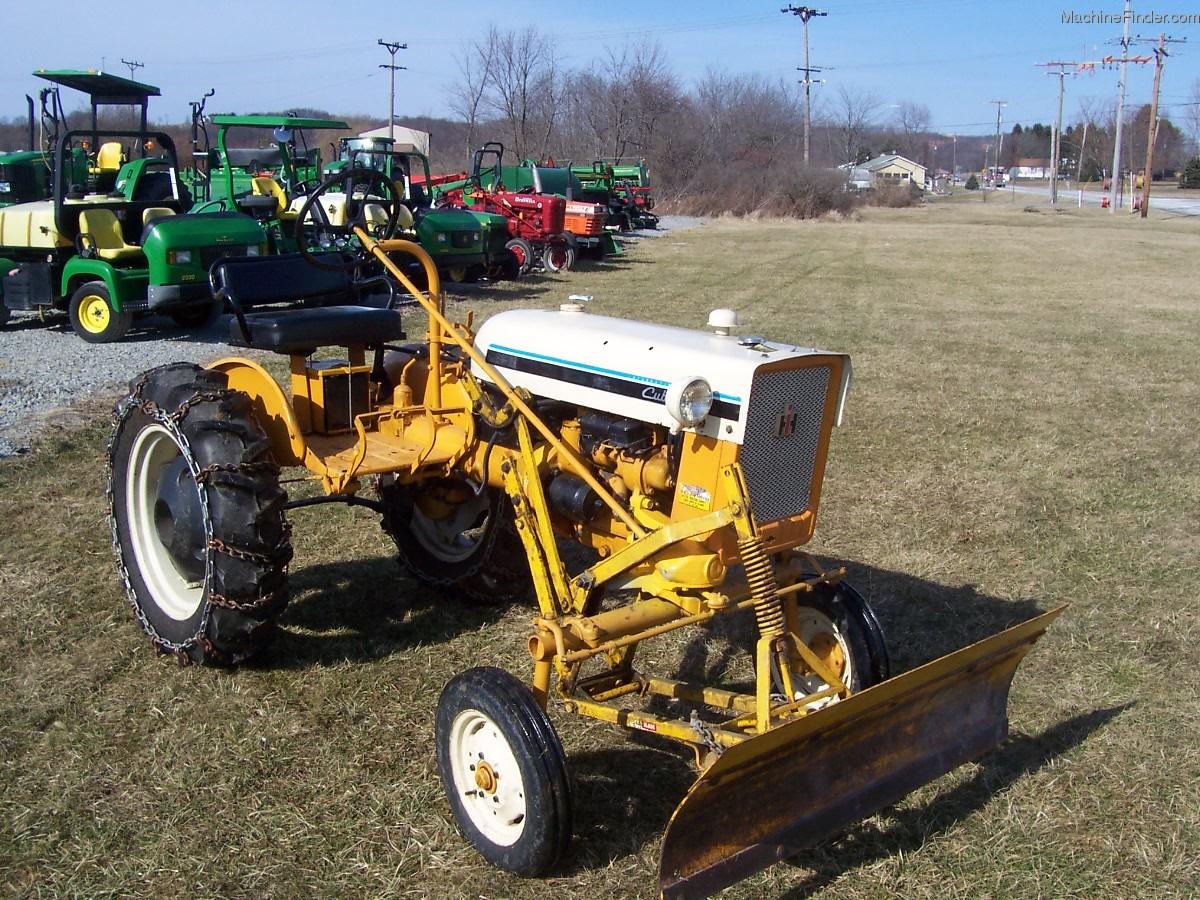International Harvester Cub Tractor : International harvester cub tractors utility
