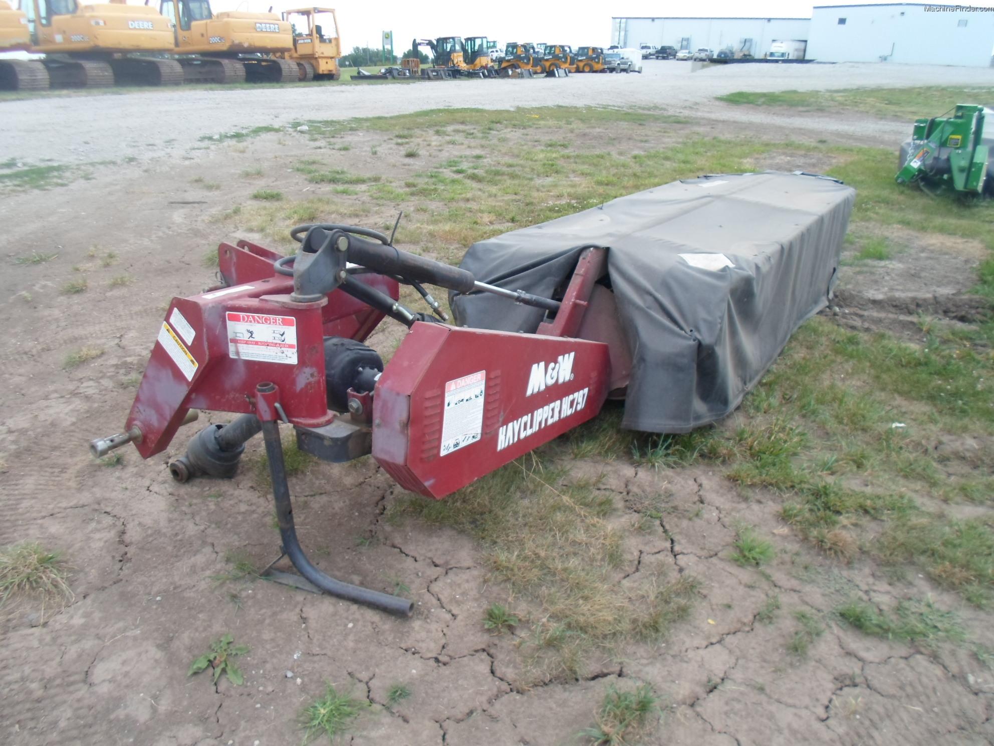 M Amp W Hc797 Hay Equipment Mower Conditioners Amp Mowers