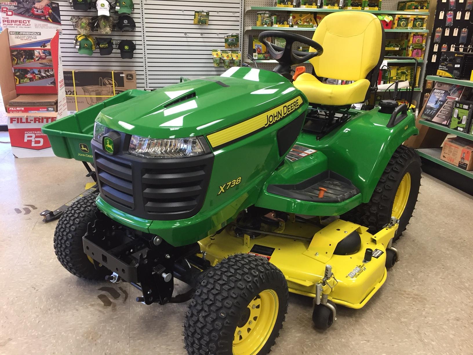 John Deere X738 Lawn Garden Tractors For Sale 65621