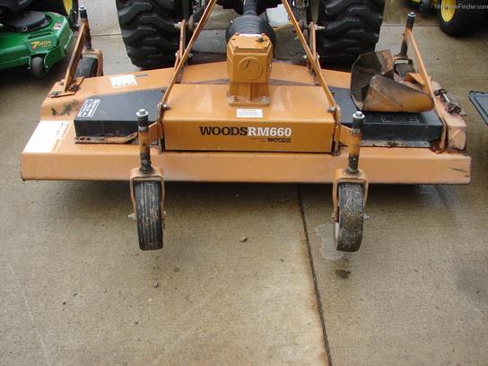 Woods Finish Mower Belt Replacement