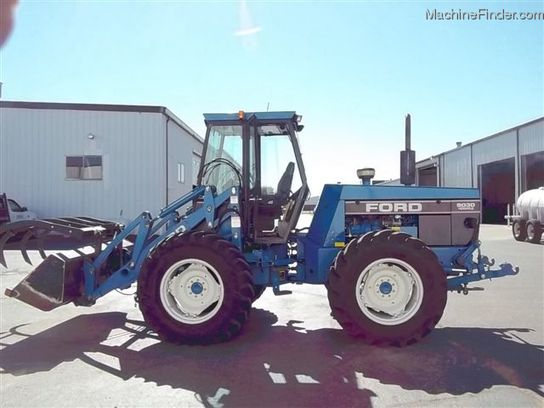 Ford Bi Directional Tractor : Ford