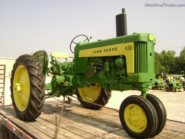 1959 John Deere 430 Tractors Utility 40 100hp John Deere Machinefinder