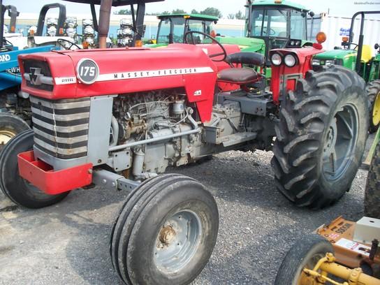 Massey Ferguson 175 Tractor Data : Massey ferguson tractors utility hp john